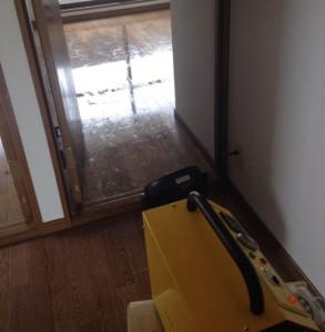 神戸市須磨区にて心中現場の特殊清掃