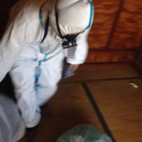 尼崎市にて孤独死現場の特殊清掃
