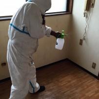 吐血現場の特殊清掃と畳の撤去