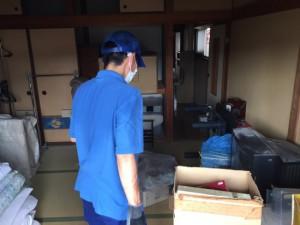八尾市にて特殊清掃後、遺品整理もご依頼