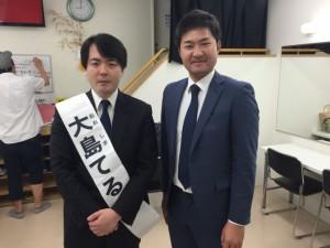 大島てるさんとの写真