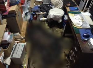 大阪市西区にて入室可能状態にする特殊清掃