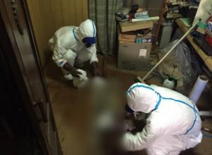 大阪市西区にて特殊清掃