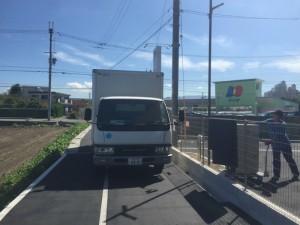 高石市にて一部の運搬と生前整理