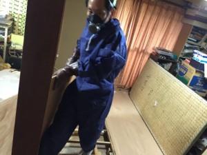 孤独死部屋の特殊清掃と異臭の消臭(堺市南区)2