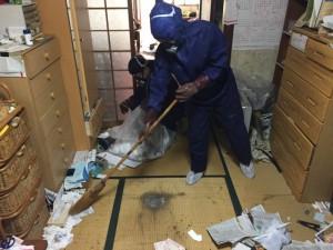 特殊清掃と残置物処理(大阪市北区)
